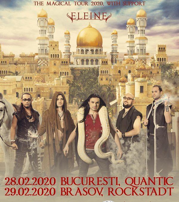 Myrath vine în România, anul viitor, în februarie