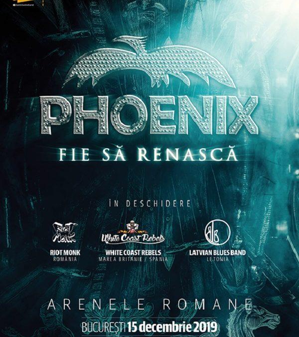 Phoenix la București: încă două trupe confirmate în deschiderea concertului
