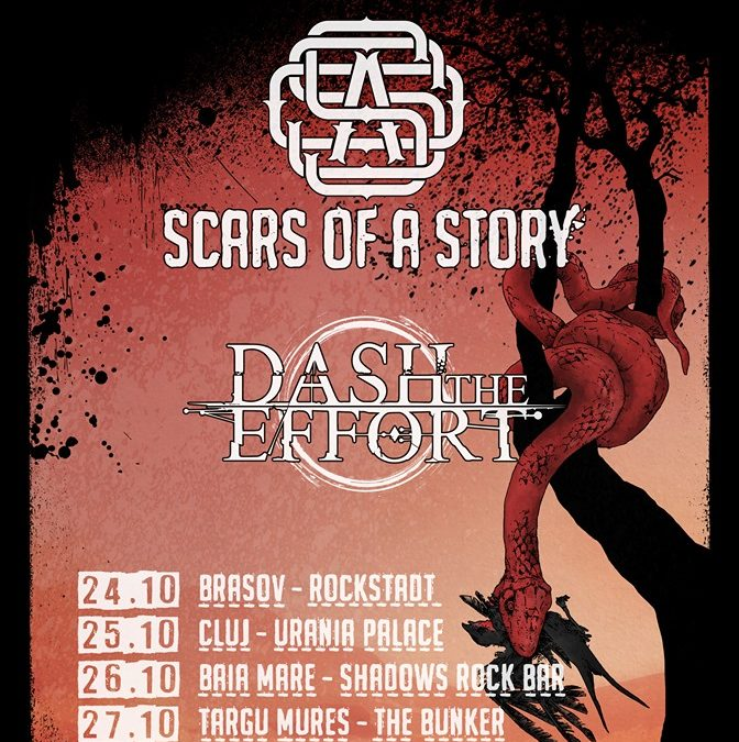 Scars of a Story și Dash the Effort pleacă din nou în turneu