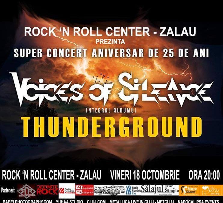 Super concert aniversar de 25 de ani, Voices of Silence, la Zalău și Cluj