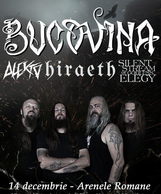 Alekto și Silent Stream of Godless Elegy vor deschide concertul Bucovina