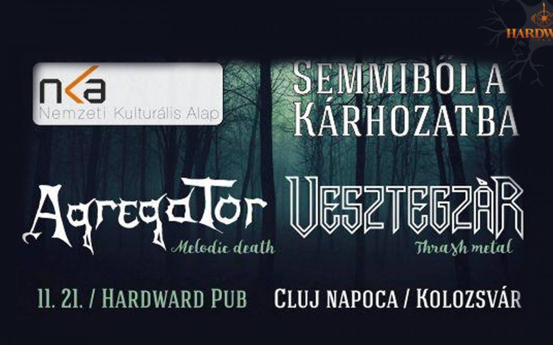 Agregator și Vesztegzar din Ungaria vor cânta în Cluj-Napoca, Odorheiu Secuiesc și Târgu Mureș