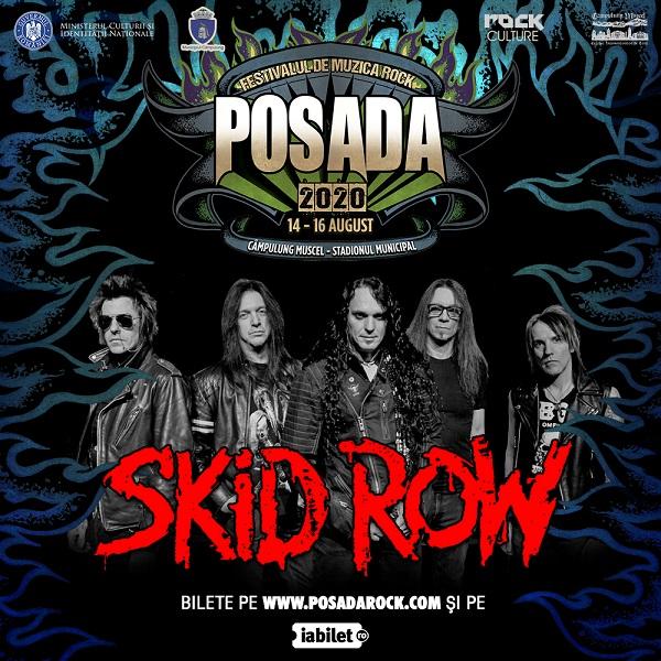 SKID ROW la Posada Rock pe 16 august 2020