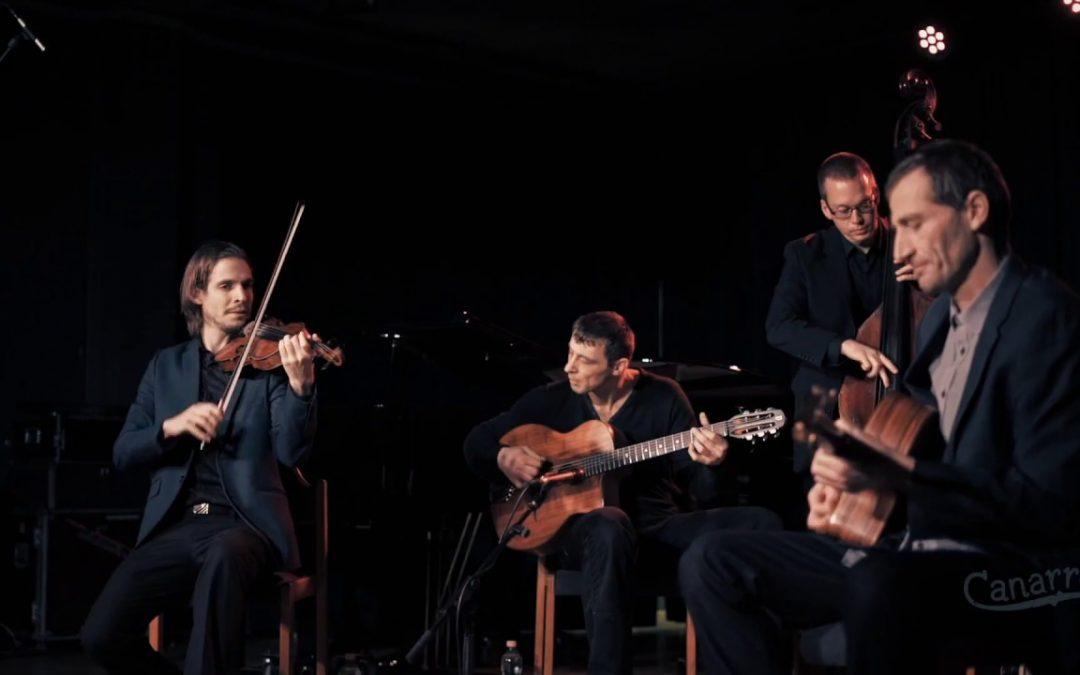 Concert gypsy jazz cu grupul Canarro, LIVE, în Capcana