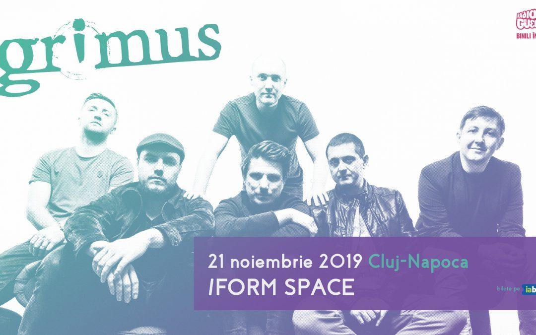 Grimus concertează în /Form Space Cluj-Napoca
