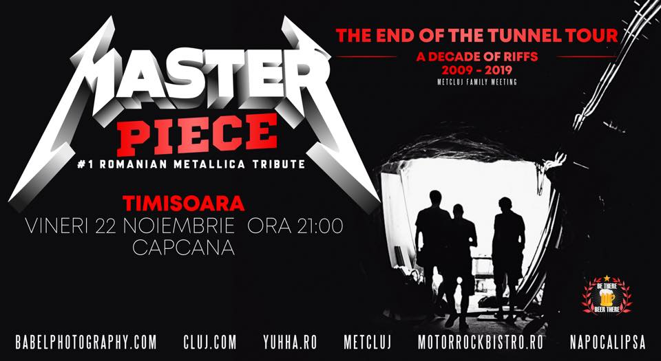 Concert tribut Metallica, LIVE, în Capcana