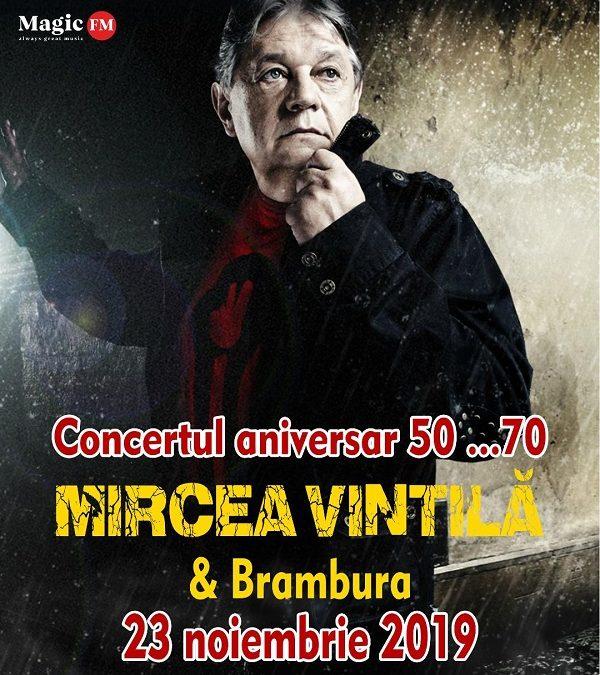 """MIRCEA VINTILĂ """"50 …70"""" la Hard Rock Café – programul evenimentului"""