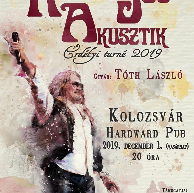 Celebrul solist maghiar Rudán Joe va susține un turneu acustic în Ardeal în preajma Zilei Naționale a României