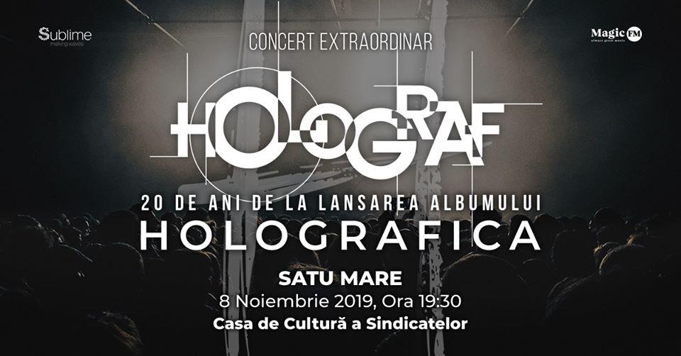 """Cronică de concert: Holograf la Centrul Cultural """"G.M. Zamfirescu"""" din Satu Mare"""