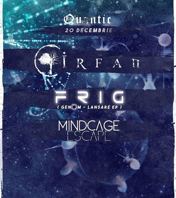 Pe 20 decembrie se lasă FRIG peste Club Quantic!