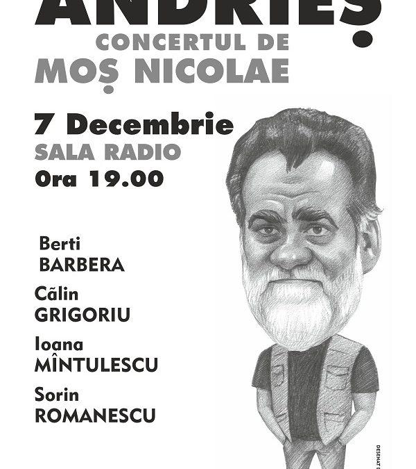 Concert Alexandru Andrieș – București – Sala Radio. Programul evenimentului.