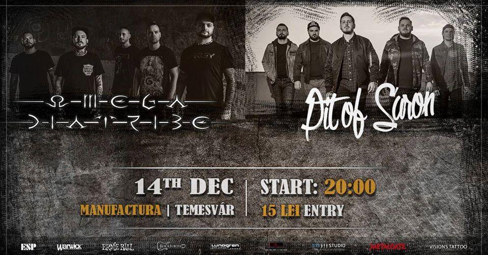 Dublu concert metal, LIVE, în Manufactura