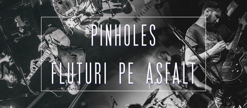Fluturi pe Asfalt și Pinholes, LIVE, în Capcana