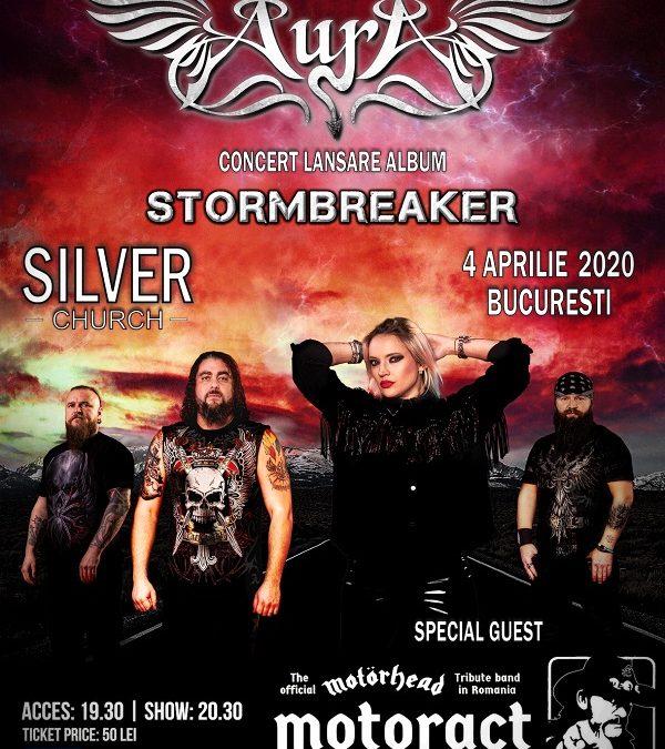 """Scarlet Aura susține concert de lansare """"STORMBREAKER"""" în București, pe 4 aprilie 2020!"""