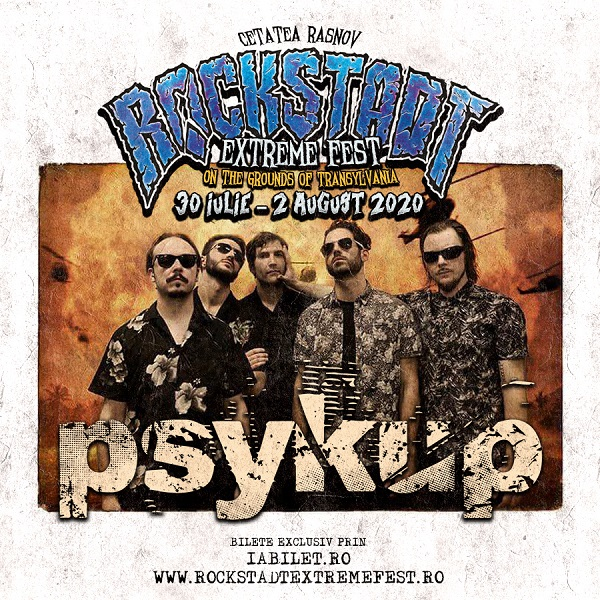 Psykup la Rockstadt Extreme Fest 2020