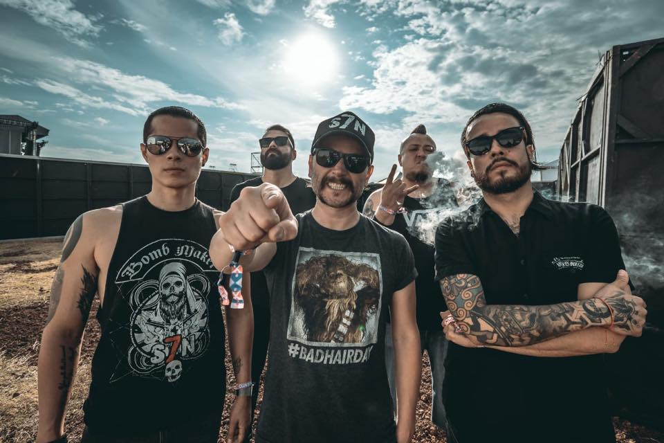 Concert thrash metal cu trupa S7N din Mexic, LIVE, în Capcana