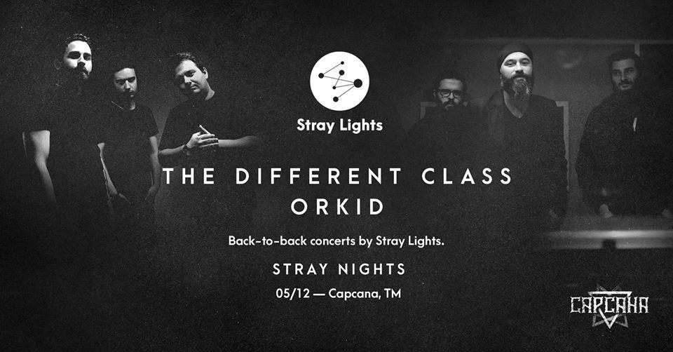 The Different Class și Orkid, LIVE, în Capcana