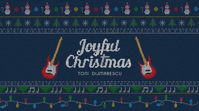 """Toni Dijmărescu lansează single-ul """"Joyful Christmas"""", o melodie specială de Crăciun"""