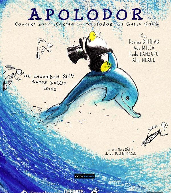 Apolodor vine în Quantic pe 22 decembrie