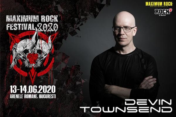 Devin Townsend și Katatonia confirmați pentru Maximum Rock Festival 2020