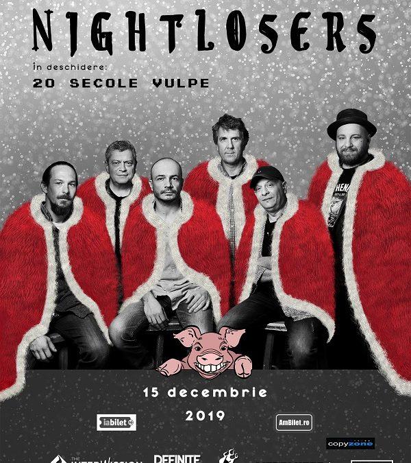 Concert călduros în mijloc de decembrie cu Nightlosers și 20 Secole Vulpe la Quantic