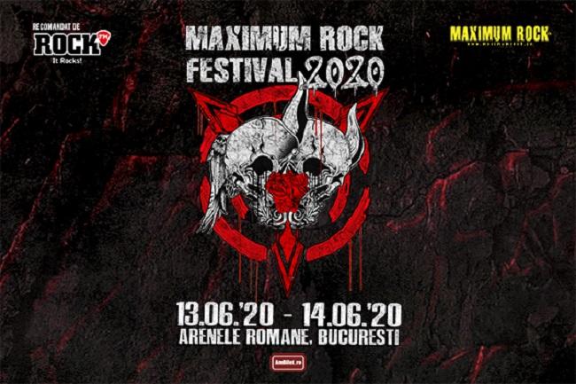 Maximum Rock Festival revine în 2020!