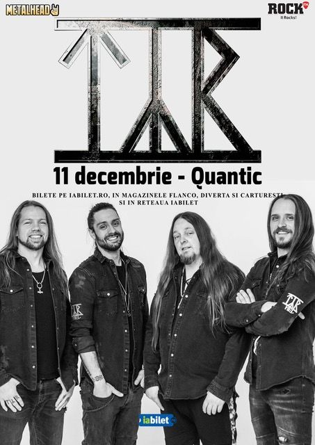 TYR în concert la Quantic Club pe 11 decembrie