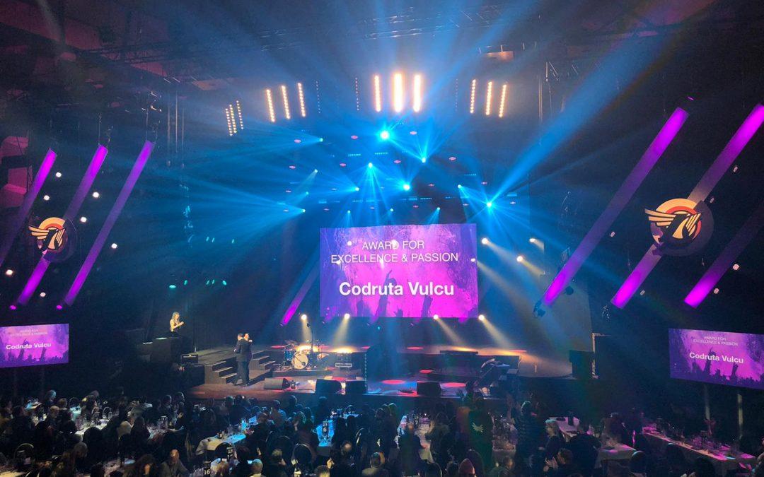 """Premieră pentru România: o româncă desemnată câștigătoarea categoriei """"The Award for Excellence and Passion"""" de către European Festival Awards"""