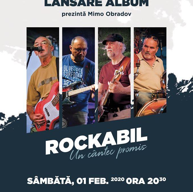 Trupa Rockabil își lansează noul album, LIVE, în Manufactura