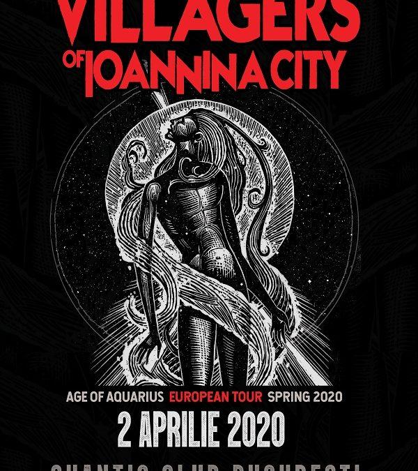 SoundArt prezintă Villagers Of Ioannina City în Quantic pe 2 aprilie