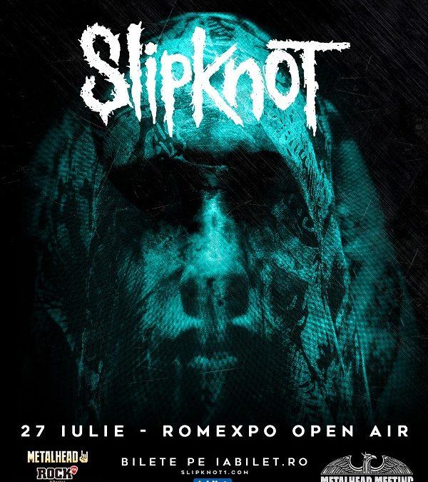 Slipknot cântă în premieră în România la Metalhead Meeting