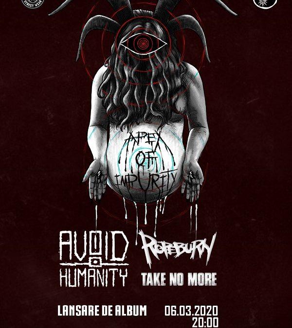 Avoid Humanity lansează primul album în club Fabrica pe 6 martie