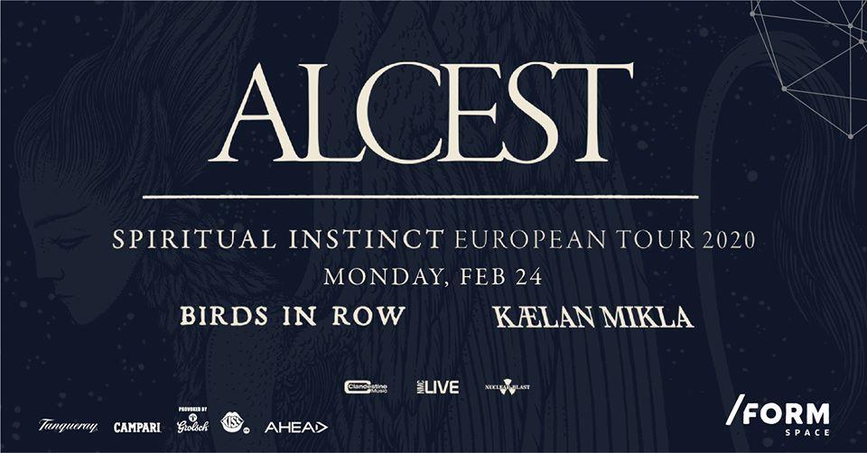 Alcest, Birds in Row și Kælan Mikla vor concerta astăzi și mâine în Cluj-Napoca și București