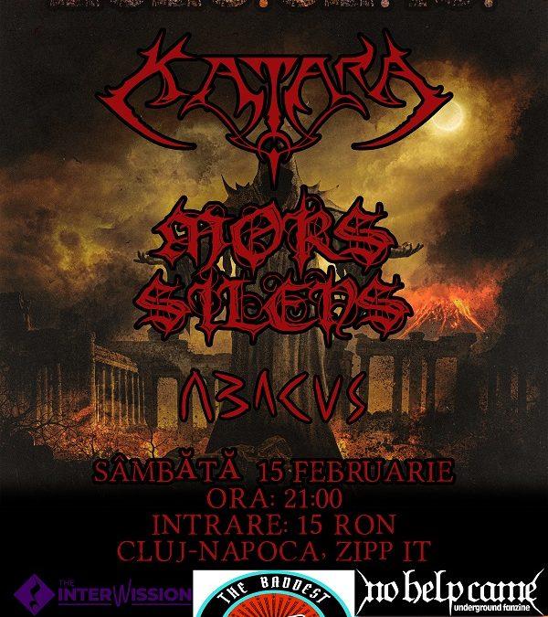 Concert Katara, Mors Silens și Abacus în Cluj-Napoca în Club Zipp It