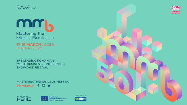 Zeci de profesioniști din industria muzicală internațională vin la București în perioada 17 – 19 martie la conferința Mastering The Music Business