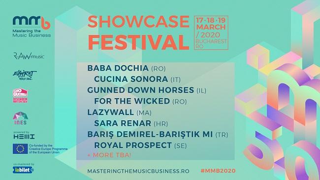 Artiști din România, Italia, Israel, Maroc, Croația, Turcia și Suedia – printre primele confirmări la MMB Showcase Festival