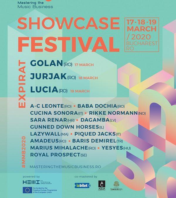 GOLAN, Lucia și Jurjak – headlinerii MMB Showcase Festival