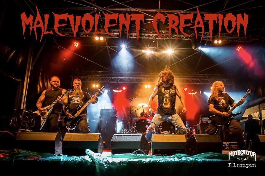 Concert Malevolent Creation, LIVE, în Capcana