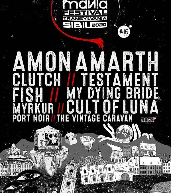 Noi confirmări și premiere în line-up-ul ARTmania Festival 2020: Fish, Port Noir și Testament fac parte din cel de-al doilea val de artiști confirmați