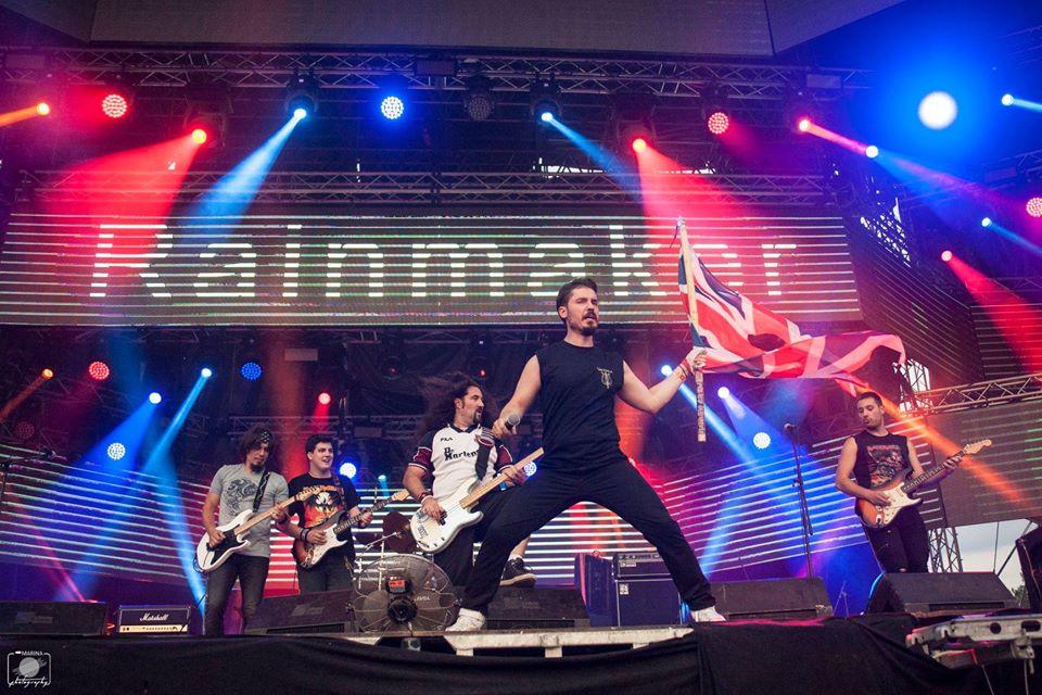 Concert tribut Iron Maiden cu trupa Rainmaker în premieră în Timișoara