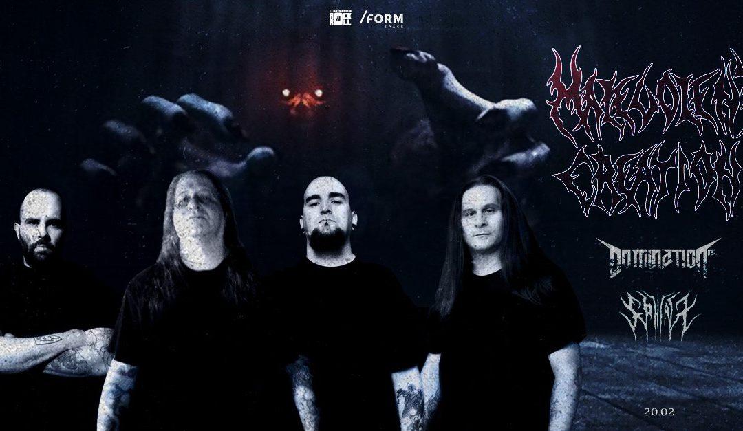 Malevolent Creation, Domination Inc. și Sphinx vor susține săptămâna viitoare concerte în Chișinău, Cluj-Napoca, Timișoara, Brașov și București