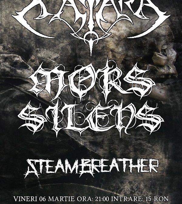Katara revine în Oradea împreună cu Mors Silens (HU) și trupa locală Steambeather