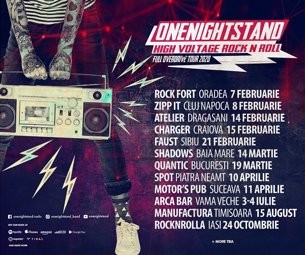 Onenightstand pleacă în turneu!