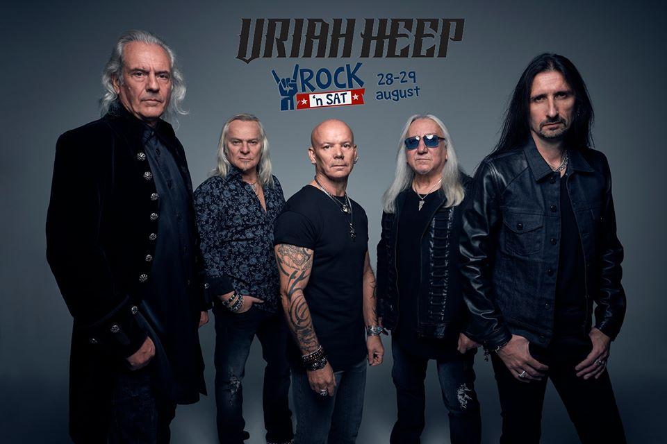 Concert Uriah Heep la festivalul Rock'n Sat. Află toate formațiile participante.