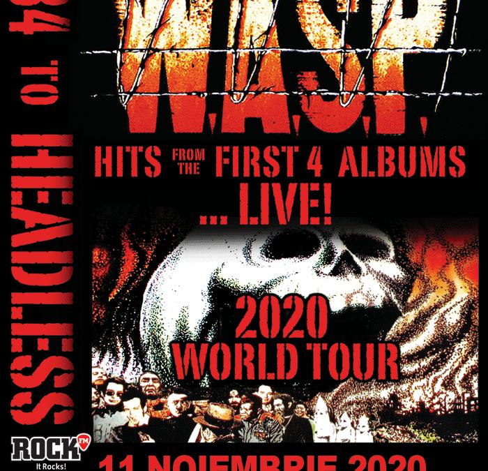 W.A.S:P. revine în România pentru un concert special