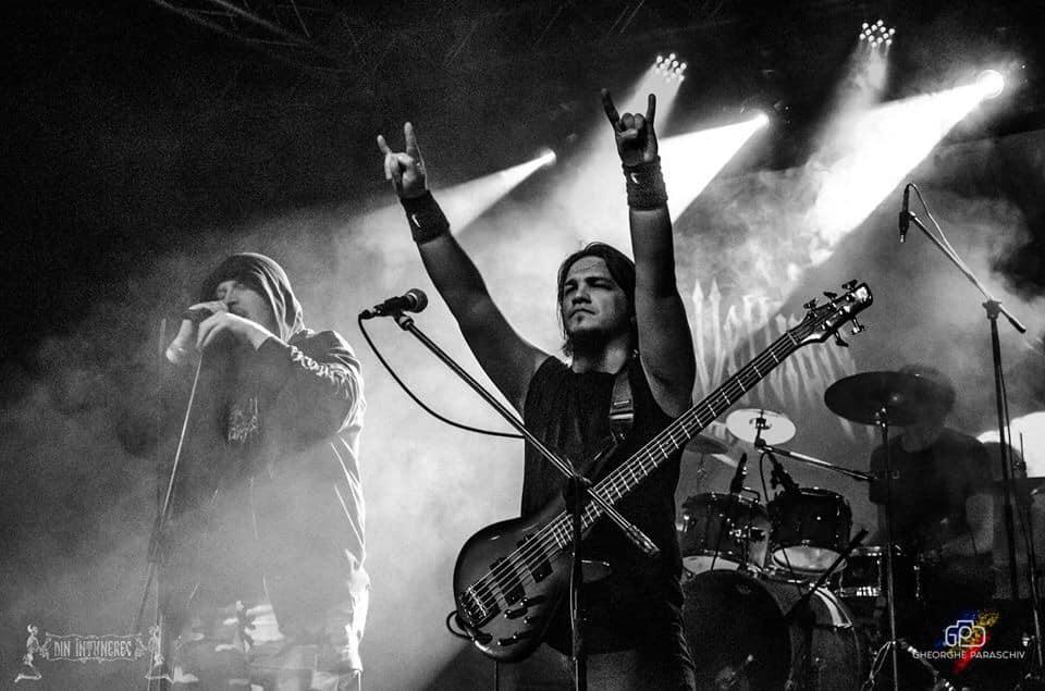 Concert death metal cu Machiavellian God, LIVE, în Capcana