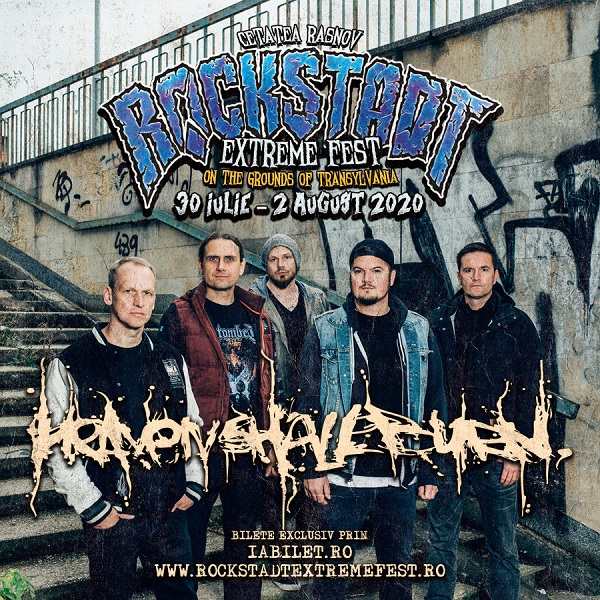 Heaven Shall Burn la Rockstadt Extreme Fest 2020