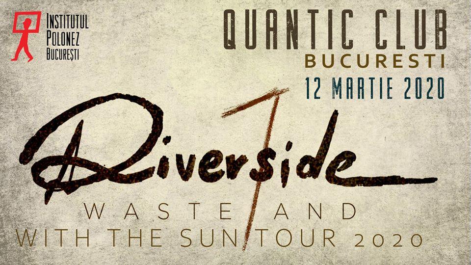Riverside va concerta la sfârșitul săptămânii viitoare în București și Cluj-Napoca