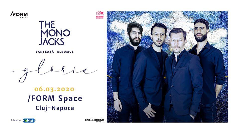 """The Mono Jacks lansează albumul """"Gloria"""" în acest week-end la Oradea, Cluj-Napoca și Sibiu"""