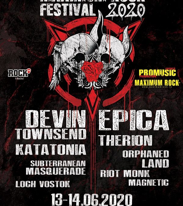 Epica, Loch Vostok și Magnetic confirmate la Maximum Rock Festival 2020